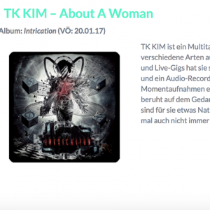 NEU in der Playlist KW 49 : TK KIM
